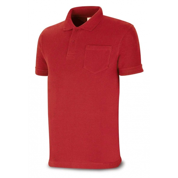 Comprar Polo Algodón Rojo 1288-Polr barato