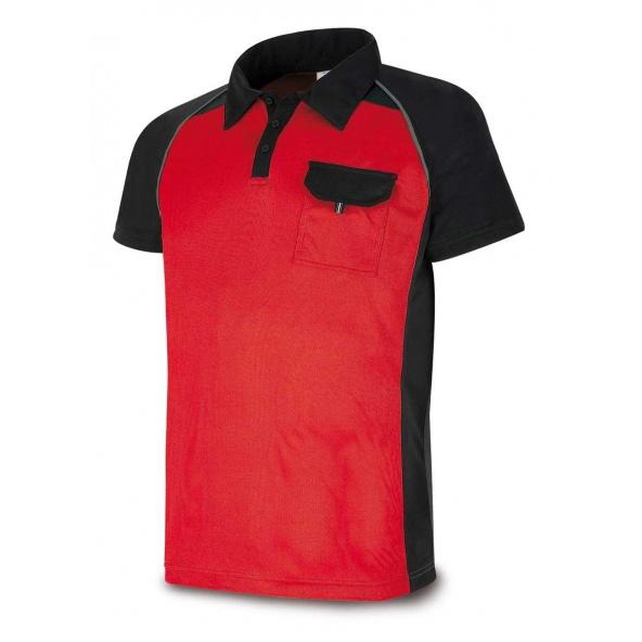 Comprar Polo Tecnica Rojo Negro 1288-Polrn barato
