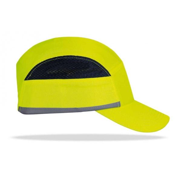 Comprar Gorra Protectora Pro Alta Visibilidad Amarilla 2088-Gp Pro Avy
