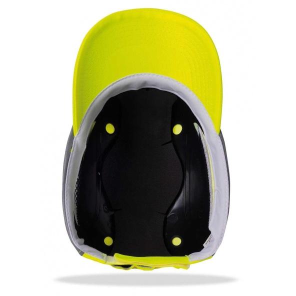 Gorra Protectora Pro Alta Visibilidad Amarilla 2088-Gp Pro Avy interior barato