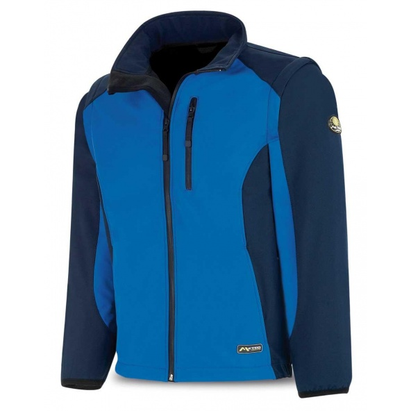 Comprar Cazadora Tipo Soft Shell Azul Azulina 288-Csa