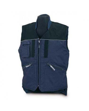 Comprar Chaleco Tergal Azul/Negro Sport 288-Van barato