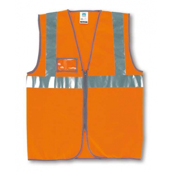 Comprar Chaleco Cremallera Naranja Fluor 288-Vfcn barato