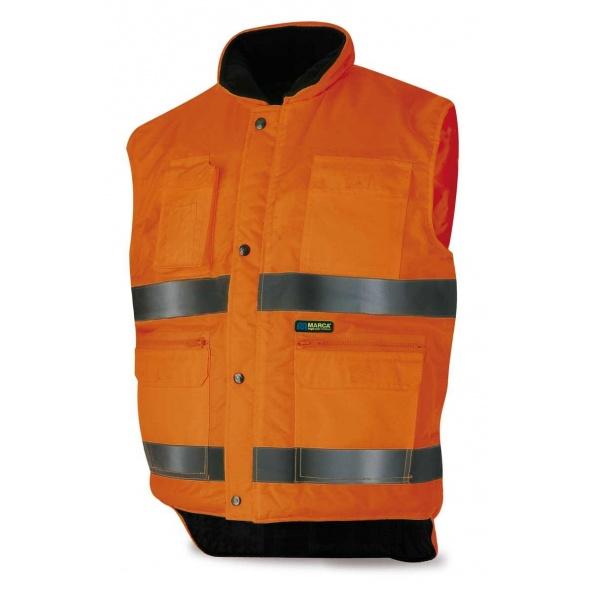 Comprar Chaleco Multibolsillos Naranja Fluor 288-Vmfn barato