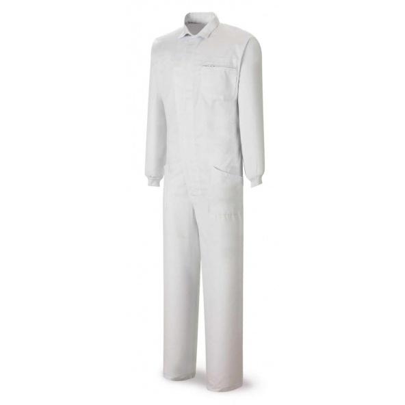 Comprar Buzo Tergal Blanco 388-Btb