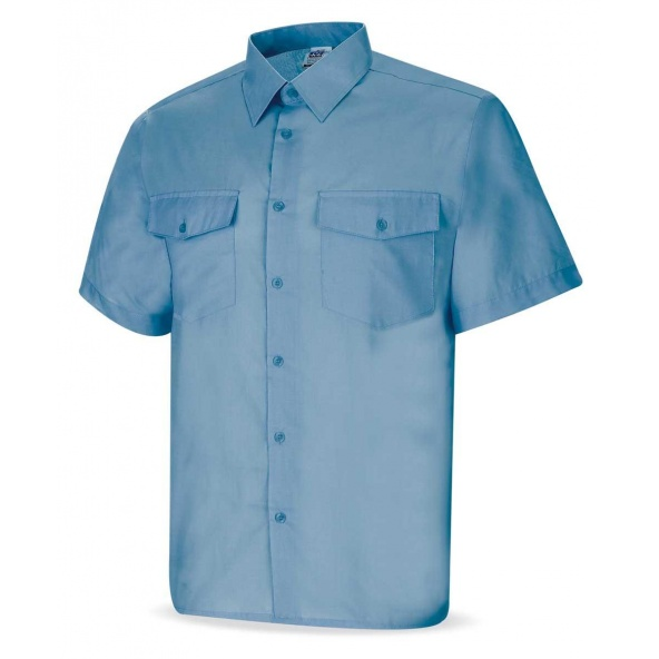 Comprar Camisa Tergal Celeste M/Corta 388-Ccmc barato