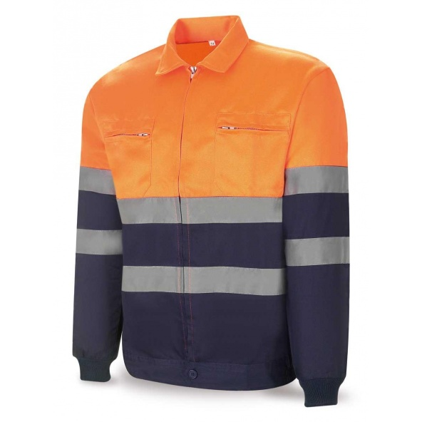 Comprar Cazadora Alta Visibilidad Azul Naranja 388-Cfn/A barato