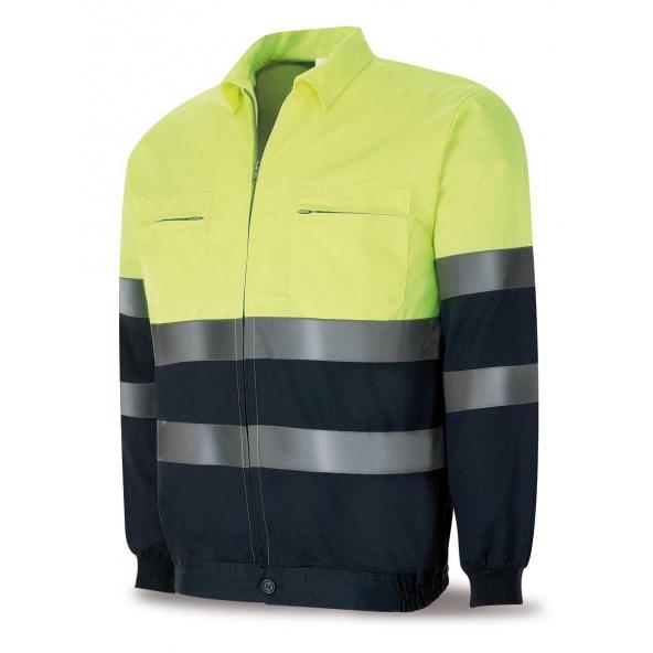 Comprar Cazadora Alta Visibilidad Amarilla Azul 388-Cfy/A barato