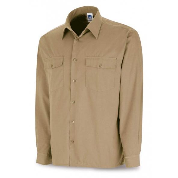Comprar Camisa Tergal Beige M/Larga 388-Cmml barato