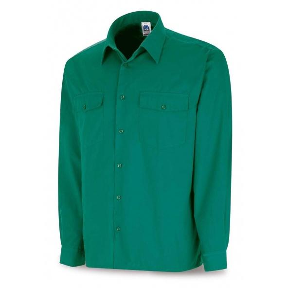 Comprar Camisa Tergal Verde M/Larga 388-Cvml barato