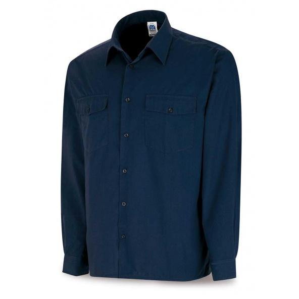 Comprar Camisa Algodón Marino M/ Larga 388-Czml barato