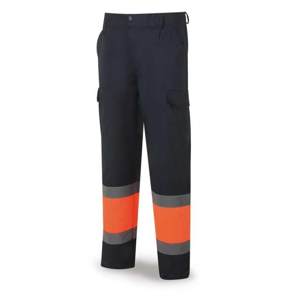 Comprar Pantalón Alta Visibilidad Azul Naranja 388-Pfn/A barato