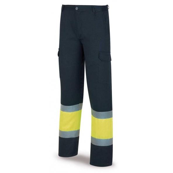 Comprar Pantalón Alta Visibilidad Acolchado Amarillo Azul 388-Pfy/Aa barato