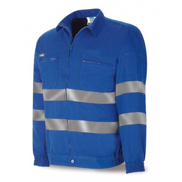 Comprar Cazadora Algodón Azulina Con Bandas 488-Ccr Top barato