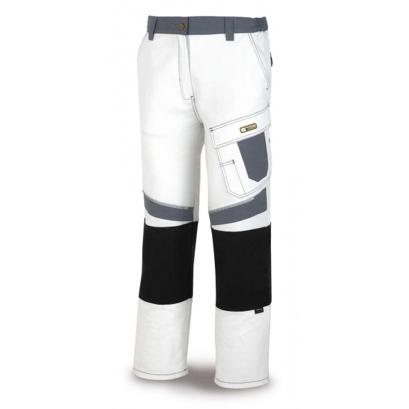 Comprar Pantalón Blanco/Gris Pro 588-Pbg