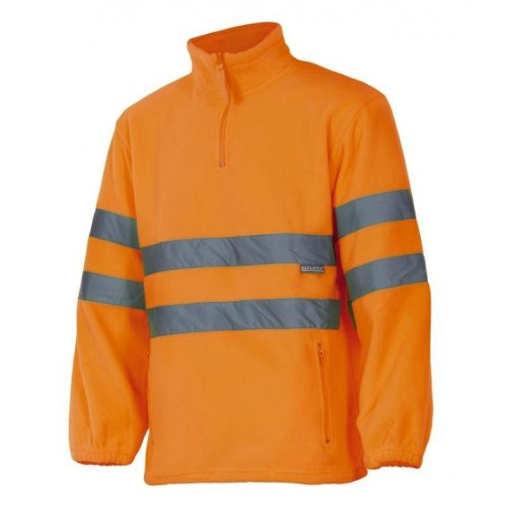 Comprar Forro polar alta visibilidad serie 180 online barato Naranja Fluor