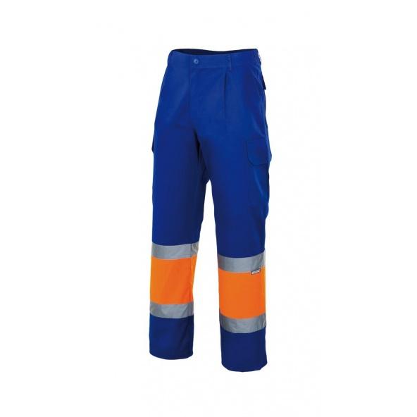 Comprar Pantalón bicolor alta visibilidad serie 157c online barato Azulina