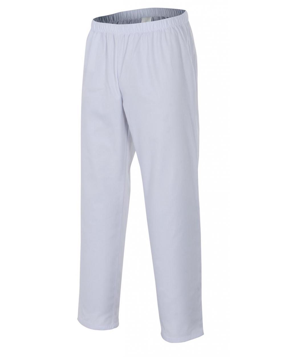 Comprar Pantalón pijama industria alimentaria serie 253001 online barato Blanco