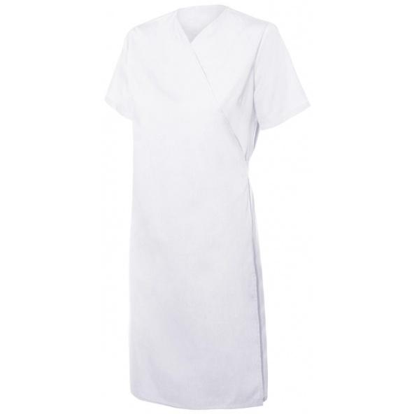 Comprar Bata cruzada mujer serie 259002 online barato Blanco