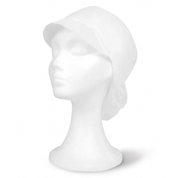 Comprar Cofia desechable serie 584001 bolsa de 100 uds online barato Blanco