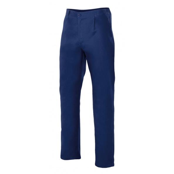 Comprar Pantalón de algodon serie 342 online barato Azul Marino