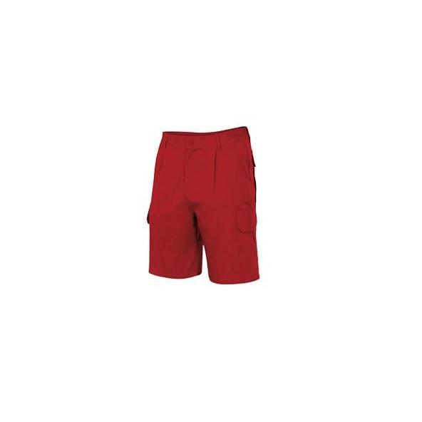 Comprar Bermuda multibolsillos serie 344 online barato Rojo