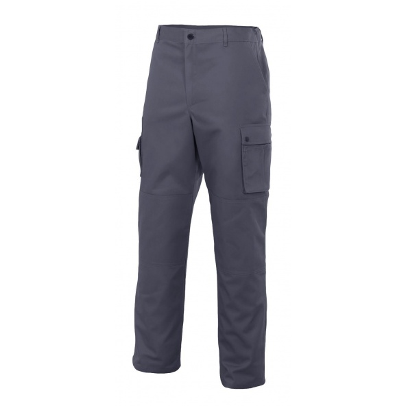 Comprar Pantalón multibolsillos con refuerzo de tejido serie niquel online barato Gris