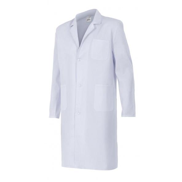Comprar Bata blanca unisex serie 700p online barato Blanco