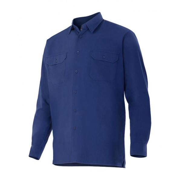 Comprar Camisa manga larga serie 520 online barato Azul Marino