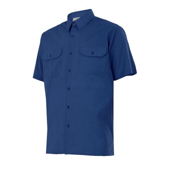 Comprar Camisa manga corta serie 522 online barato Azul Marino
