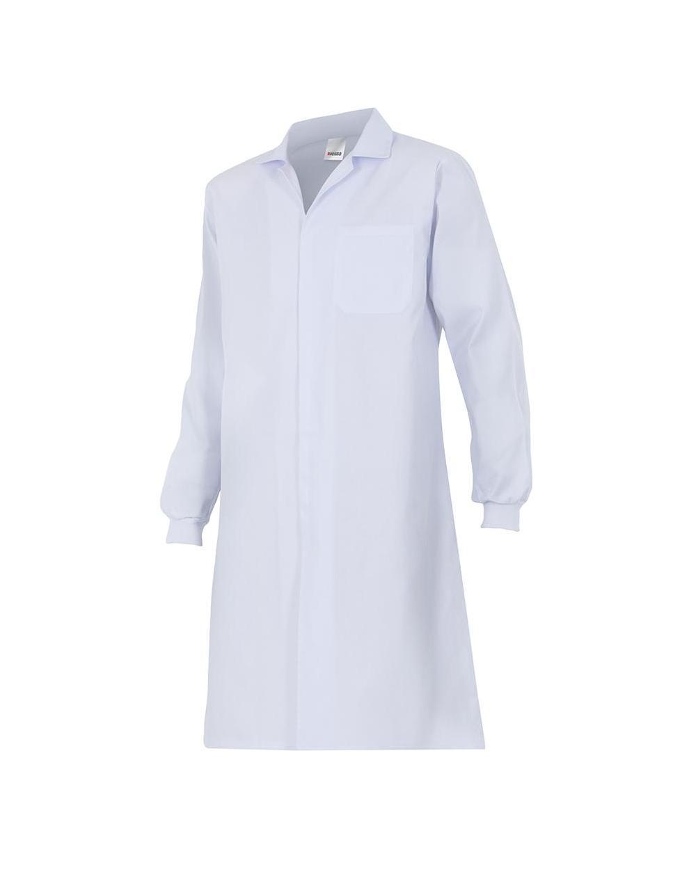 Comprar Bata con cierre de velcro serie 705 online barato Blanco