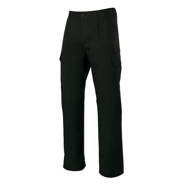 Comprar Pantalón multibolsillos serie 345 online barato Negro