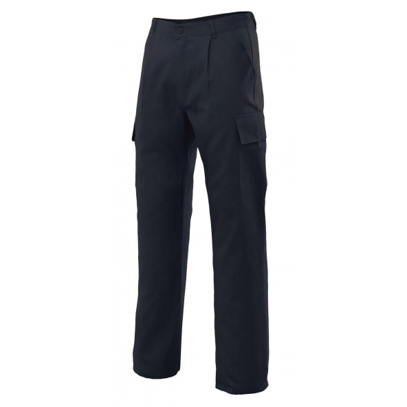 Comprar Pantalón multibolsillos serie 31601 online barato Negro