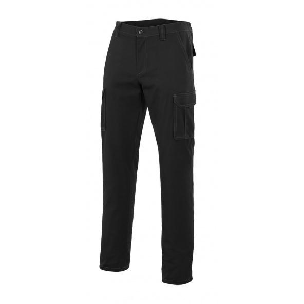Comprar Pantalón multibolsillos serie 103001 online barato Negro