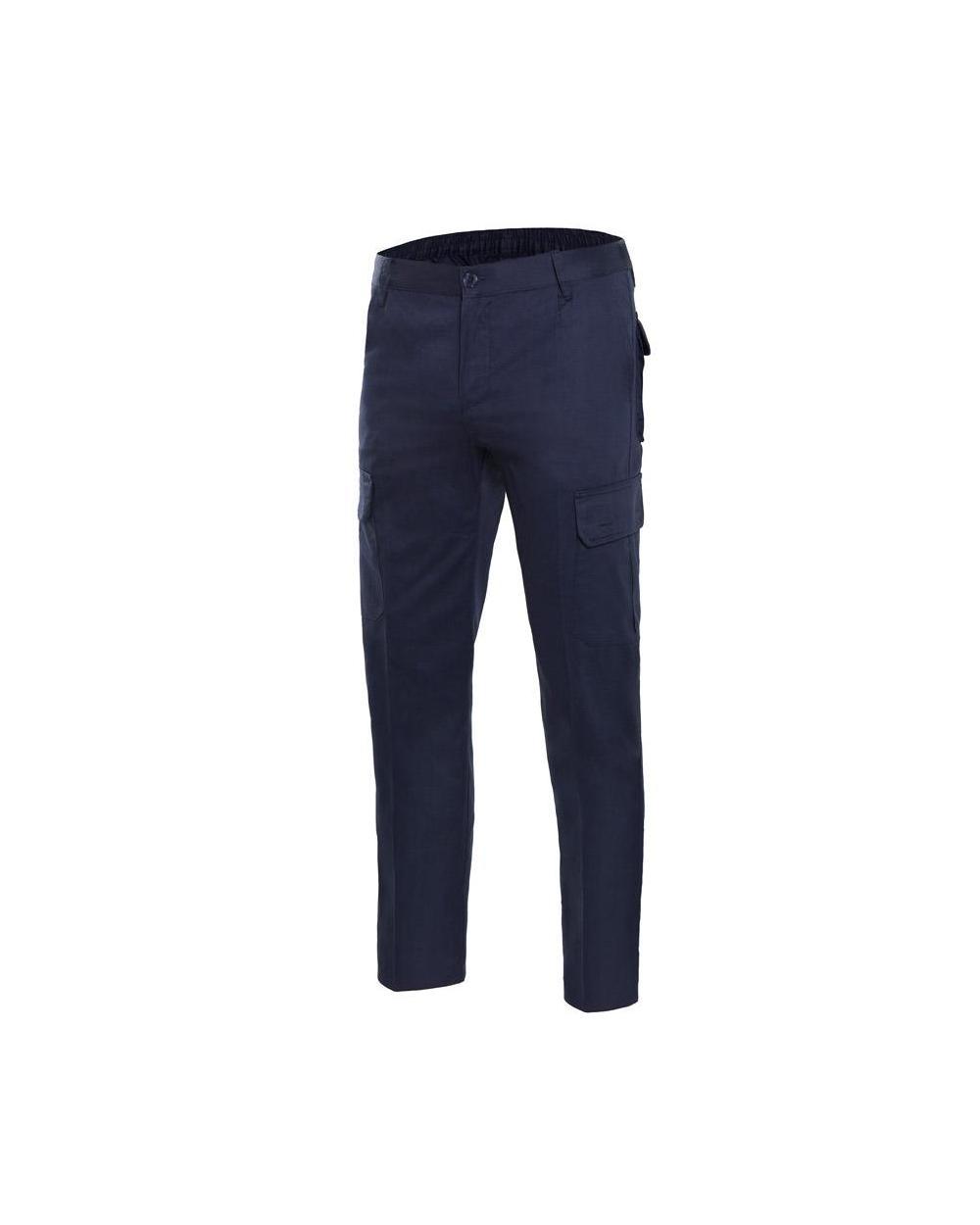 Comprar Pantalón 100% algodon multibolsillos serie 103003 online barato Azul Navy