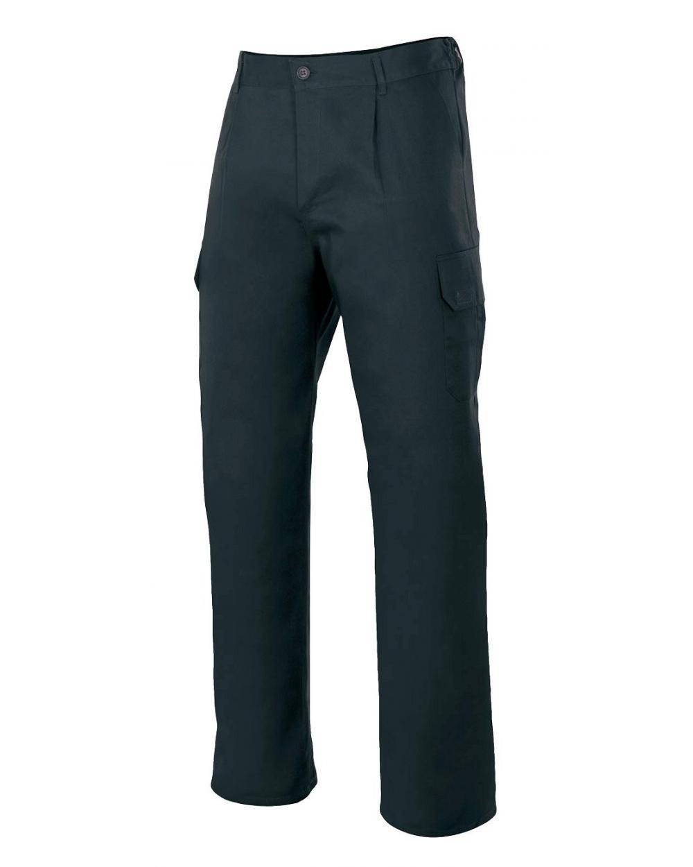 Comprar Pantalón  forrado multibolsillos serie 103006 online barato Negro