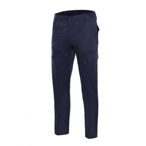 Comprar Pantalón 100% algodon multibolsillos serie 103013 online barato Azul Navy
