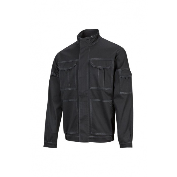 Comprar Cazadora stretch multibolsillos serie 106002s online barato Negro