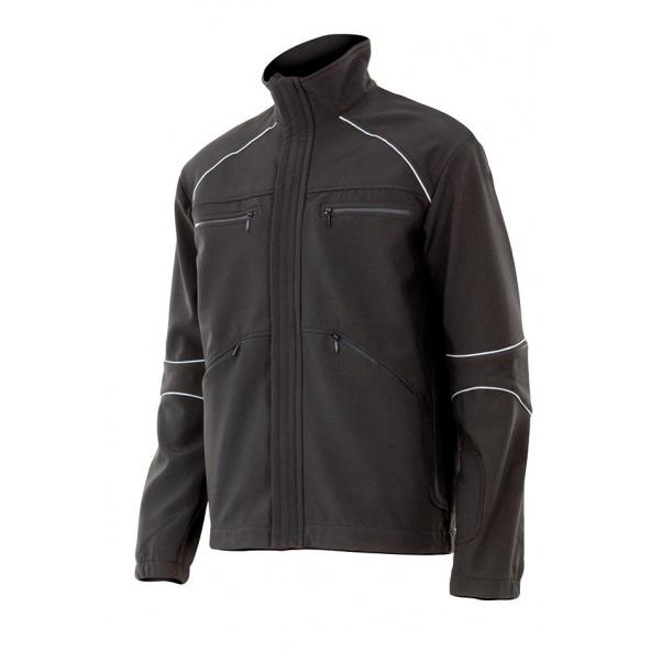 Comprar Cazadora soft shell serie moncayo online barato Negro
