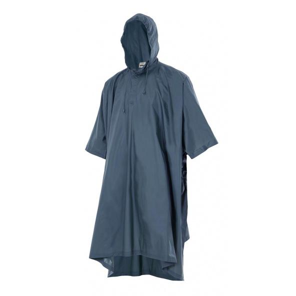 Comprar Poncho de lluvia con capucha serie 187 online barato Azul Marino