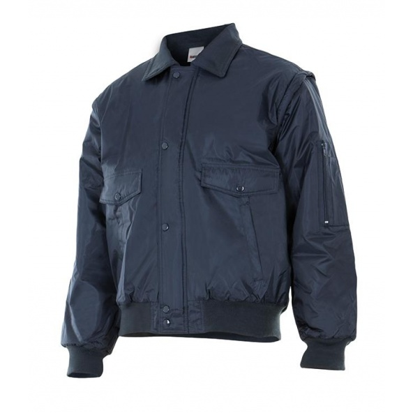 Comprar Cazadora impermeable desmontable serie 11501 online barato Azul Navy