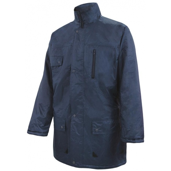 Comprar Parka acolchada impermeable multibolsillos serie 206004 online barato Azul Navy