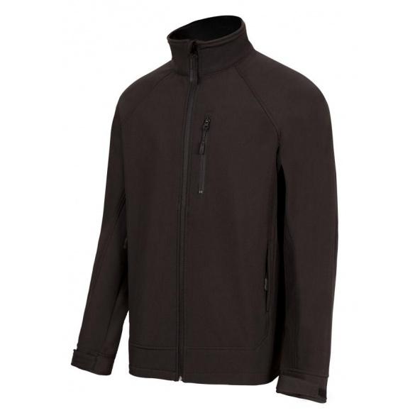Comprar Cazadora soft shell serie 206005 online barato Negro