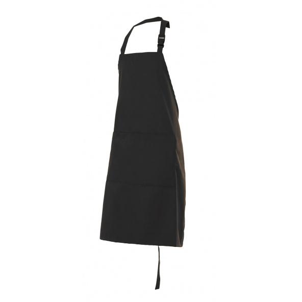 Comprar Delantal peto con bolsillo serie trepat online barato Negro