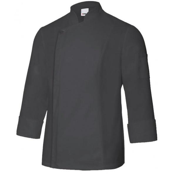 Comprar Chaqueta de cocina con cremallera serie 405202tc online barato Negro