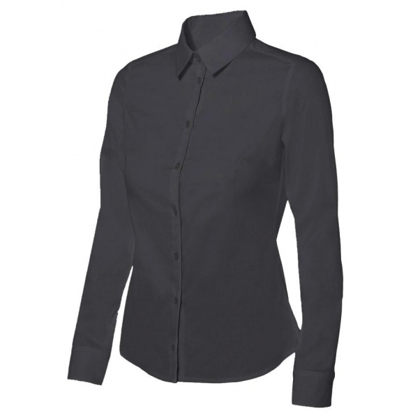Comprar Camisa stretch mujer serie 405002 online barato Negro
