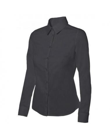 Comprar Camisa stretch mujer serie 405002 online barato Negro