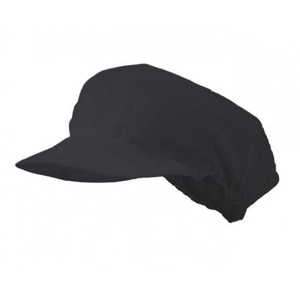 Comprar Cofia con rejilla serie 93 online barato Negro