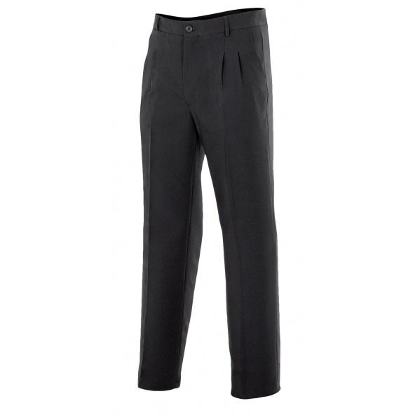 Comprar Pantalón sala para hombre serie 301 online barato Negro
