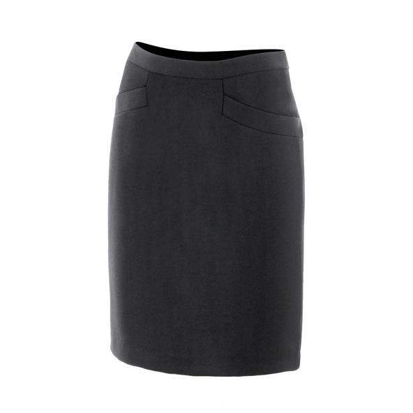 Comprar falda con forro serie 391 online barato Negro